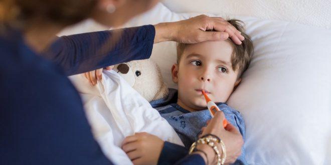 التهاب الحلق عند الاطفال