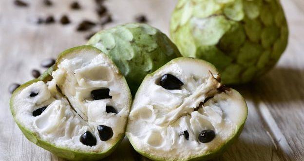 فاكهة القشطة لجمالك