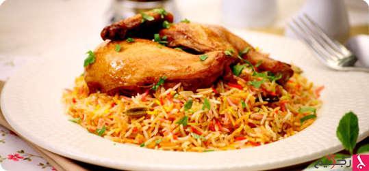 من المطبخ الهندي وصفة الدجاج بالكمون
