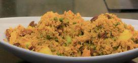 طريقة تحضير مدفونة الأرز والمكرونة