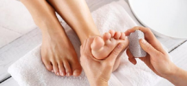 طرق إزالة الجلد الميت عن القدم