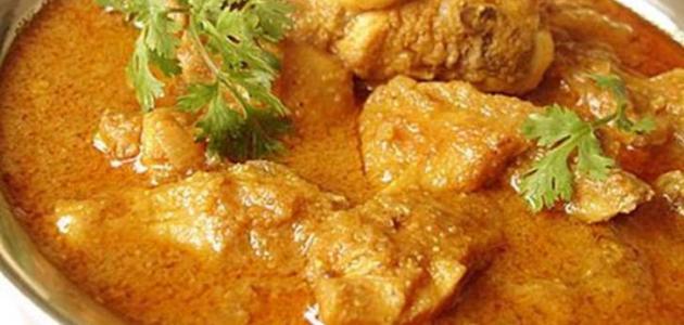 تحضير الدجاج الحار مع البطاطا الحلوة