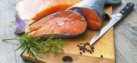 اعداد سمك السلمون
