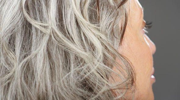 اسباب  الشعر الأبيض