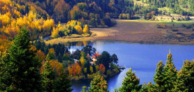 معلومات عن بحيرة أبانت