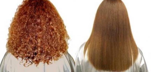 كيفية فرد الشعر بالنشا