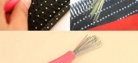 وسائل تنظيف مشط الشعر